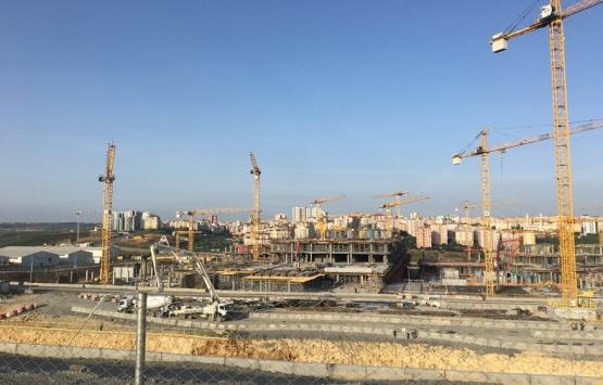 İkitelli Şehir Hastanesi'nin inşaatından son kareler!