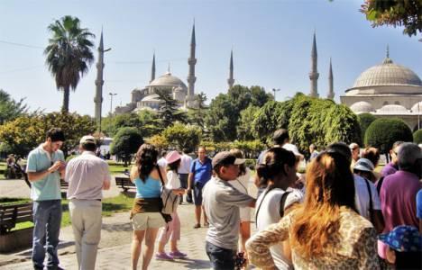 İstanbul'a gelen turist