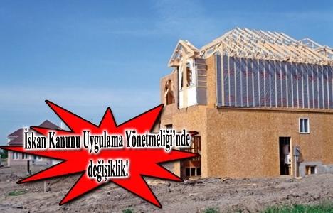 Köylerde inşaatlara kolaylık geldi!