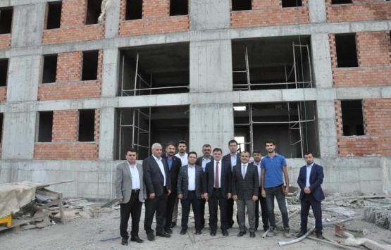 Yozgat Yerköy'de 400 kişilik yurt inşa ediliyor!