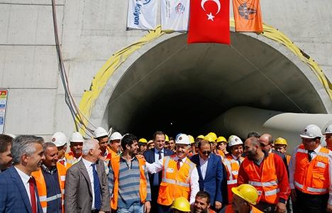 Sabuncubeli Tüneli ile İzmir ile Manisa arası 15 dakikaya inecek!