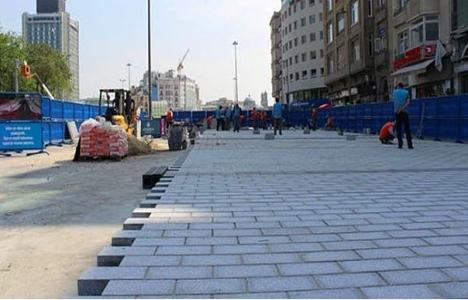 Taksim Meydanı'nda yeni