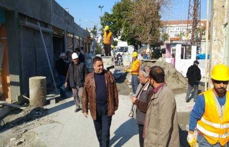 Tarsus Tarihi Ticaret Merkezi'ndeki restorasyonda son durum!