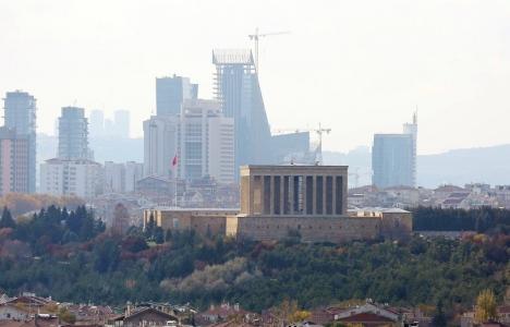 Ankara'nın silueti mi