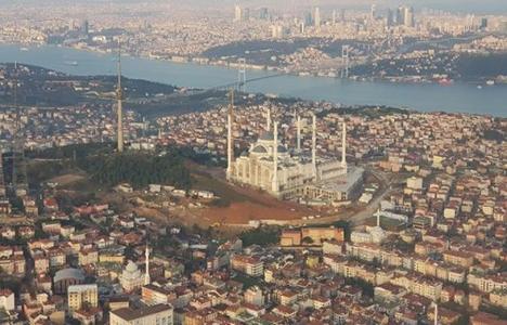 Çamlıca Camisi'nin yüzde