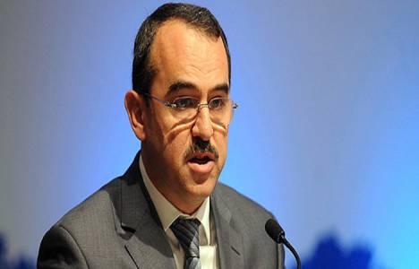 Sadullah Ergin Reyhanlı Barajı inşaat alanında incelemelerde bulundu!