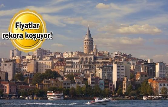 İstanbul'daki evlerin fiyatları uçtu!