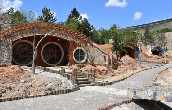 Sivas'ta Hobbit evleri