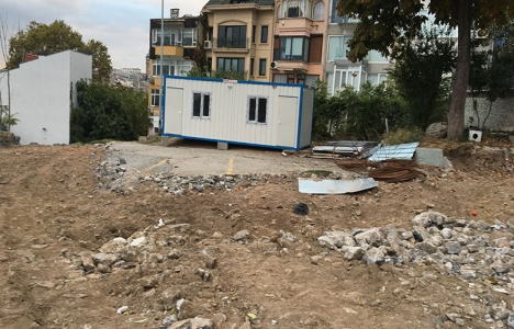Cihangir'deki Roma Parkı'na sosyal tesis mi yapılıyor?