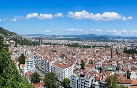 Bursa'da konut satışları azaldı!