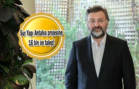 Gurbetçinin gözü Antalya'daki konutlarda!