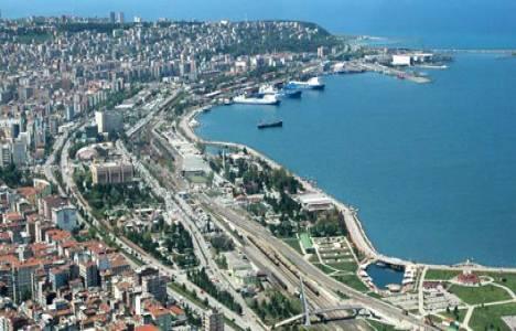 Samsun'da satılık arsa: