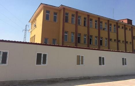 Kahramanmaraş Andırın Devlet Hastanesi için prefabrik bina yapıldı!