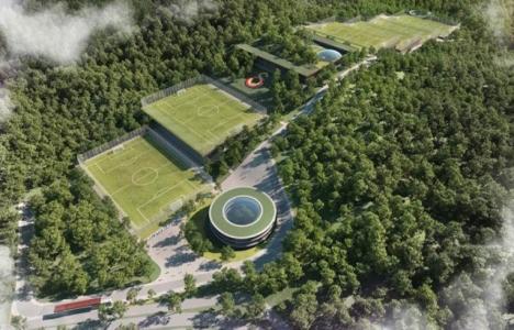 Galatasaray'ın Kemerburgaz'daki tesisine