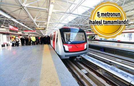 Ankara'nın metro projeleri