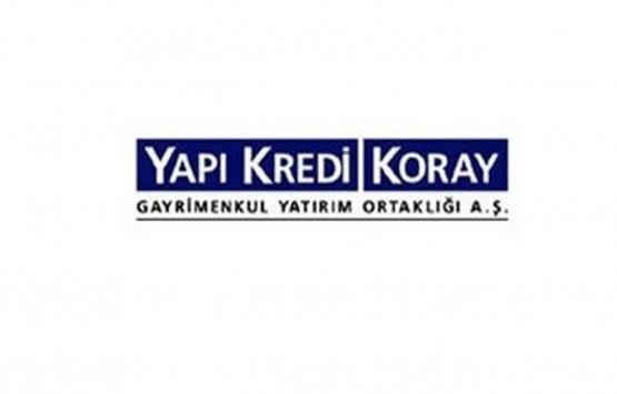 Yapı Kredi Koray GYO'nun 12.1 milyon TL'lik payları Koray Gayrimenkul'e devredildi!