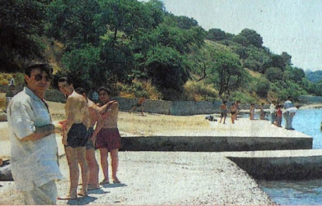 1995 yılında Burunbahçe'nin