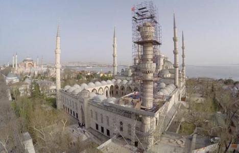 Sultanahmet Camisi'nin bir
