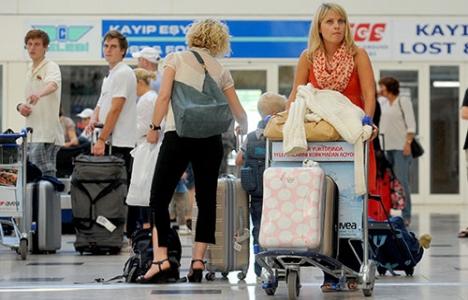 Alman turist sayısı