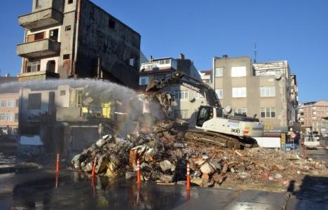 Silivri Boğluca Deresi üzerindeki son binalar yıkıldı!
