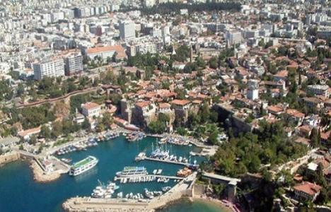 Antalya'da icradan 7.5