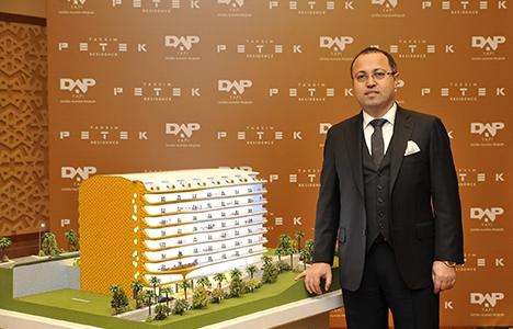 Taksim Petek Residence projesinde metrekaresi 7 bin dolara!