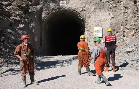 Bartın'da maden ocağında