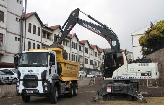 Malatya Beypazarı'nda yeni iş yerlerinin inşaatı başladı!