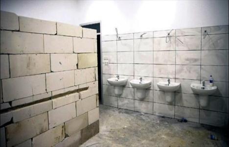 ODTÜ'de mescid inşaatı