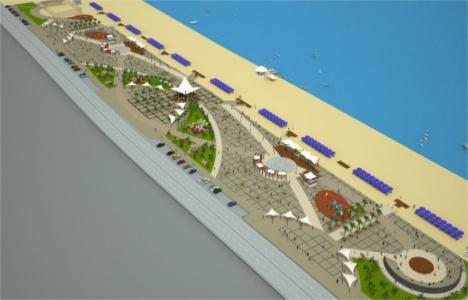 Karasu Sahil Parkı'nın temeli bugün atılıyor!