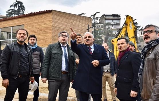 Trabzon Büyükşehir yatırımları tam gaz!