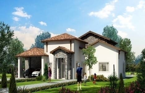 Toskana Vadisi 3. faz'da villalar 545 bin dolardan başlayan fiyatlarla!
