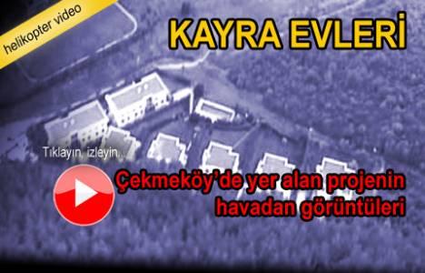 Kayra Evleri Çekmeköy'ün havadan videosu!