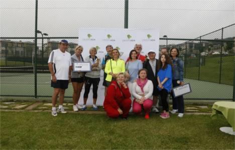 Ormanada Tenis Turnuvası'nda ilk buluşma 8 Haziran'da gerçekleşti!