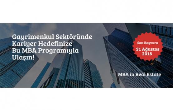 Bahçeşehir Üniversitesi MBA in Real Estate şimdi yüzde 50 indirimli!