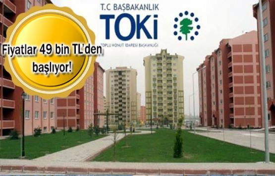 TOKİ'den 240 TL taksitle ev sahibi olma fırsatı!