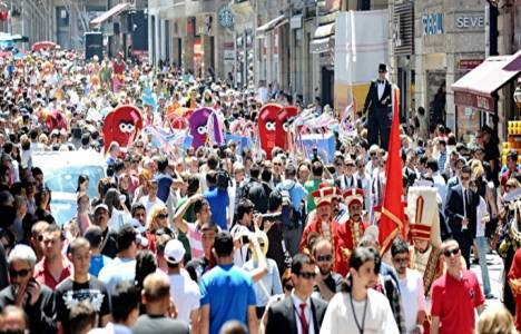 İstanbul Shopping Fest'te hedef 1 milyon turist!