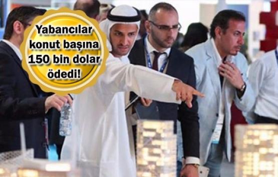 Yabancıya konut satışından ilk yarıda 3 milyar dolar gelir!
