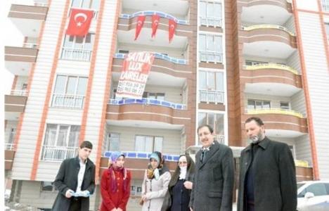 Palandöken Belediyesi'nden şehit Metin Aydemir'in ailesine konut!