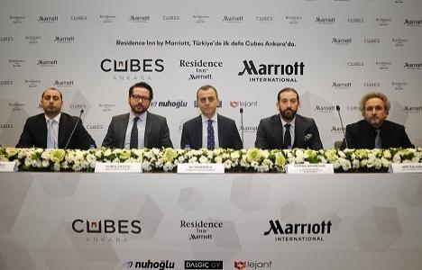 Residence Inn By Marriott, Cubes Ankara'da açılacak!
