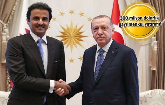 Katar'dan Türkiye'ye yatırım