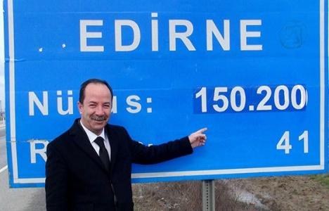 Edirne'ye ikametini taşıyana 120 TL verilecek!