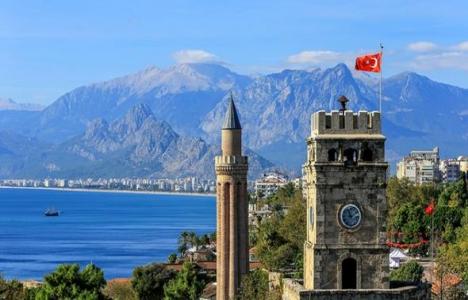 Antalya'da Temmuz'da 4