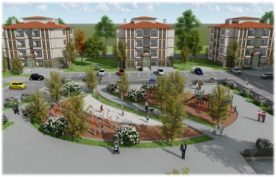 TOKİ'den Denizli'ye 354 konut ve 2 adet ticaret merkezi!