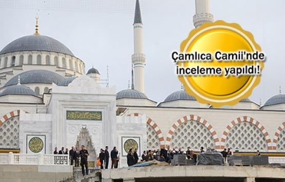 Çamlıca Camii'nden son kareler!