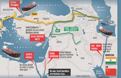 Kanal İstanbul ve TANAP projesi dünyayı korkuttu!