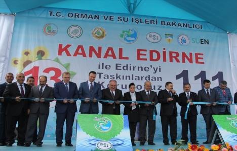 Kanal Edirne Projesi'nde