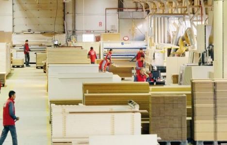 Aslandağ Ahşap yılda 90 bin kapı üretiyor!