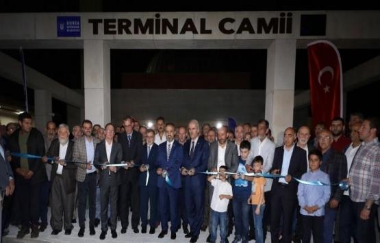 Bursa Terminal Cami açıldı!