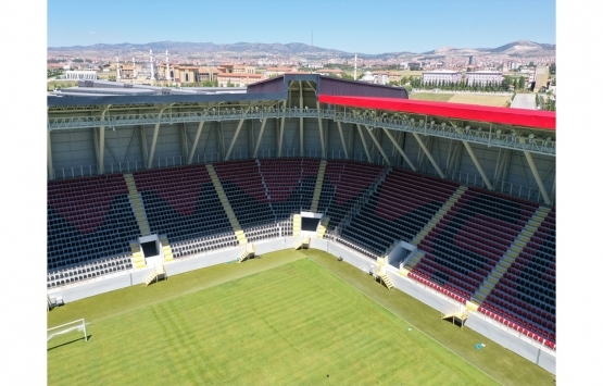 Çorum'un yeni stadı açılıyor!